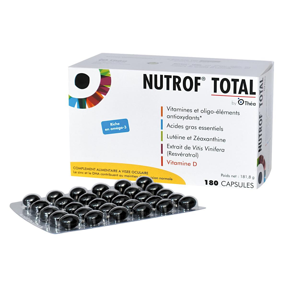 NUTROF TOTAL® 180 CAPSULES Image